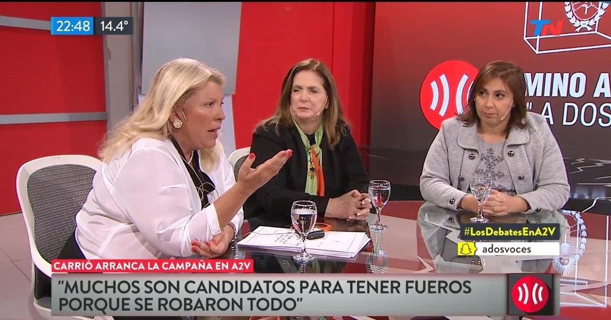 Video programa completo: Elisa Carrió arranca su campaña en