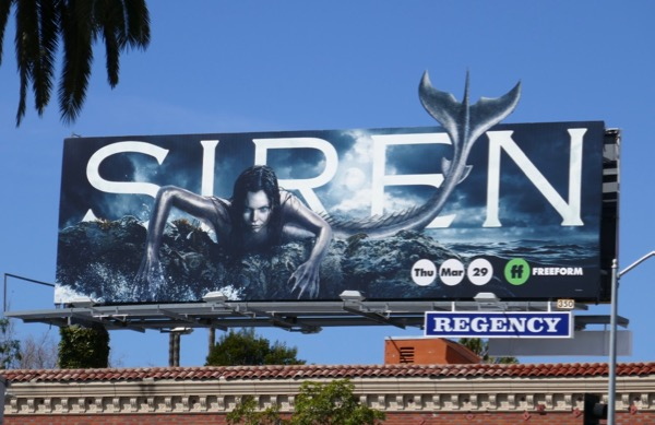 Siren TV series billboard