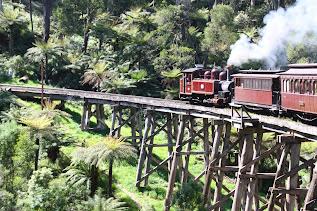 Puffing Billy Railway, Emerald, Dandenong Ranges