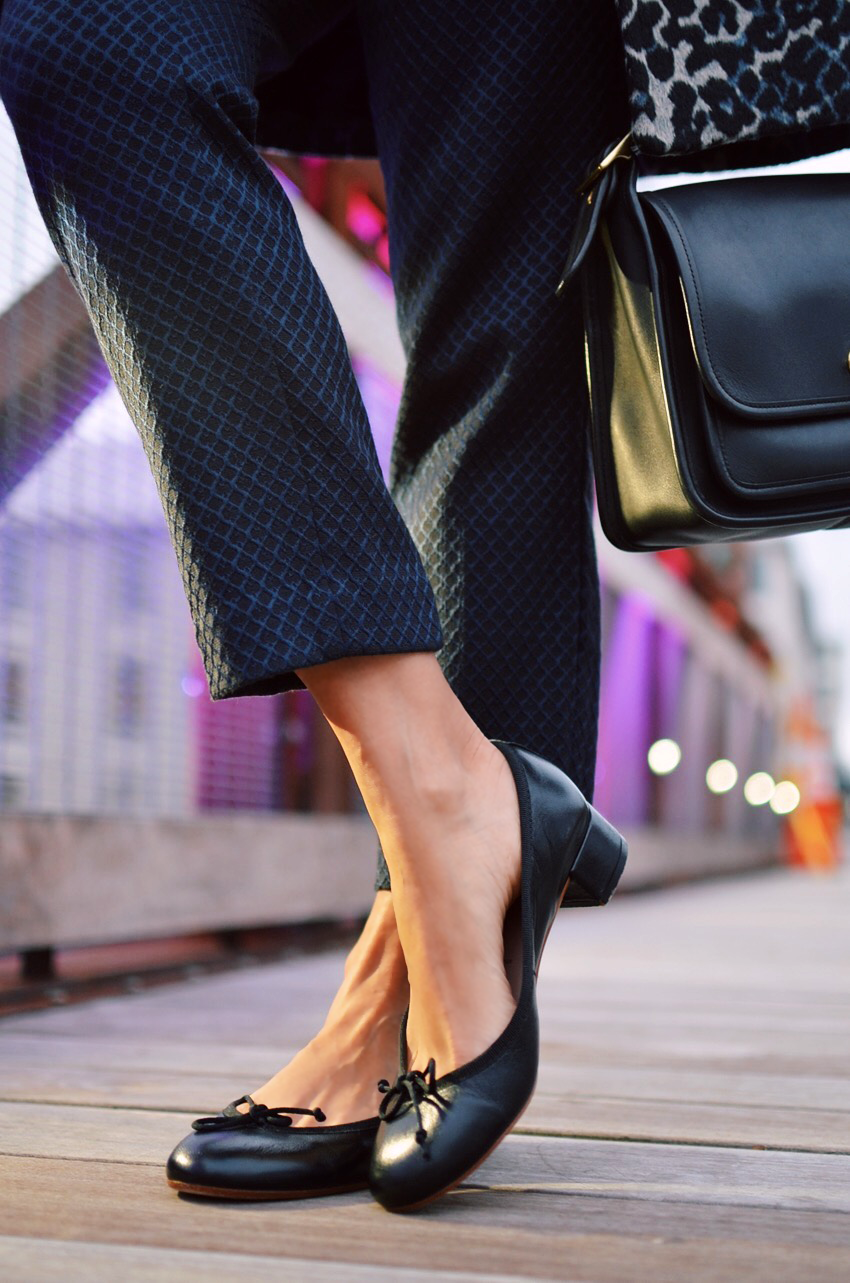 Ballet Pumps Street Style