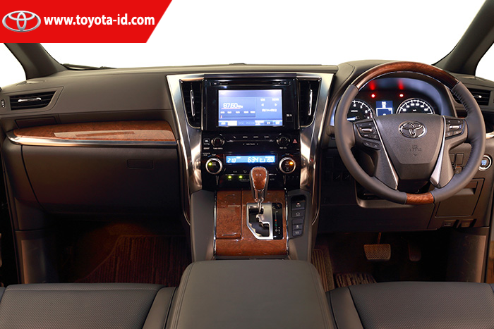 All New Alphard 3.5 Q The Camry Commercial Spesifikasi Toyota 3 5 Astra Indonesia Audio Unit