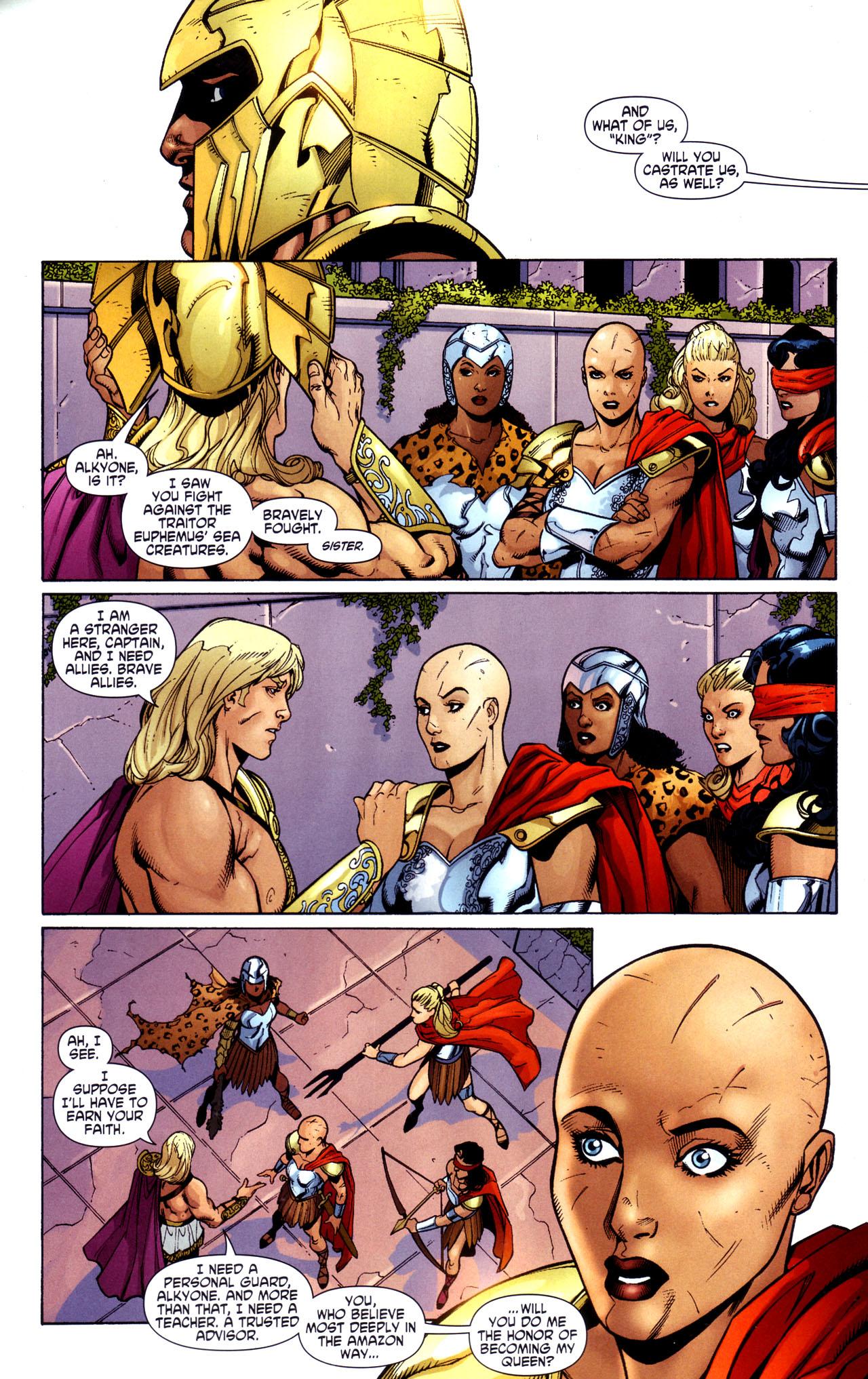 Read online Wonder Woman (2006) comic -  Issue #34 - 13