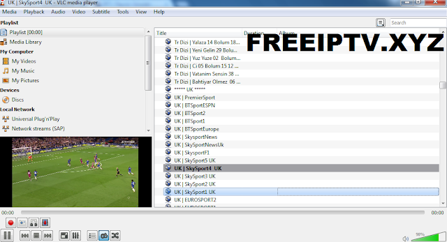 M3u Free England IPTV Links Playlist Channels 31-08-2018