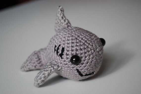 Baby shark. Crochet. Knit. Handmade. Customized. Shark. Newborn ... | 381x570