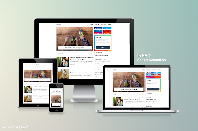 In SEO Special Ramadhan Blogger Template