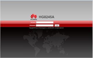 Cara Setting Modem Telkom Speedy Huawei HG8245A (IndiHome) Bagian Ke-1