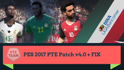 PES 2017 PTE Patch 2017 4.0 AIO