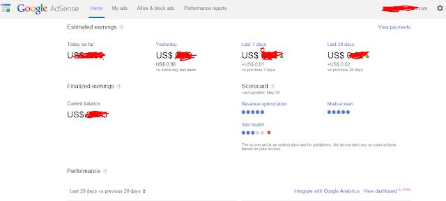 10خطوات لتحويل حساب أدسنس مستضاف لحساب أدسنس عادي على بلوجر 100%