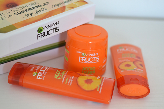 addio danni garnier fructis