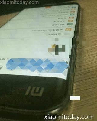 Mi ponsel melengkung tampak di media online, kemungkinan Redmi 4