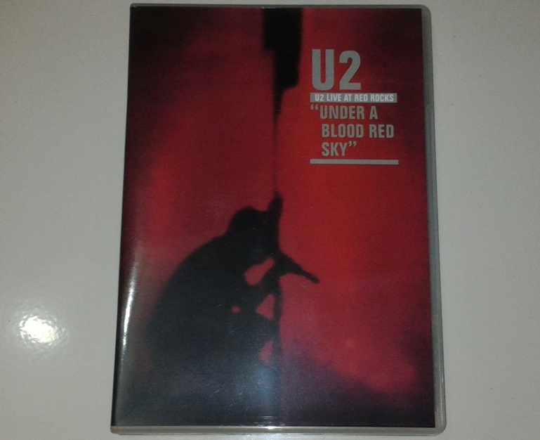 DVD U2 - Live At Red Rocks Under A Blood Red Sky - GUDANG