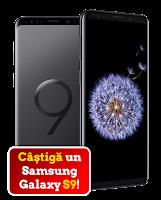 Castiga un smartphone Samsung S9
