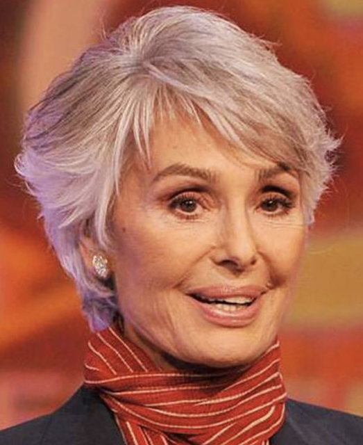 medium haircuts for older women with thin hair