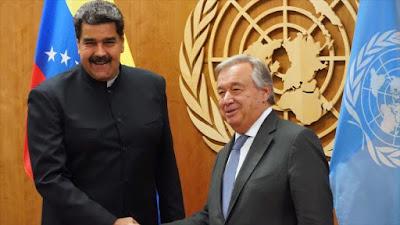 LA ONU A FAVOR DE LA PRESIDENCIA LEGÍTIMA DE VENEXUELA DE MADURO