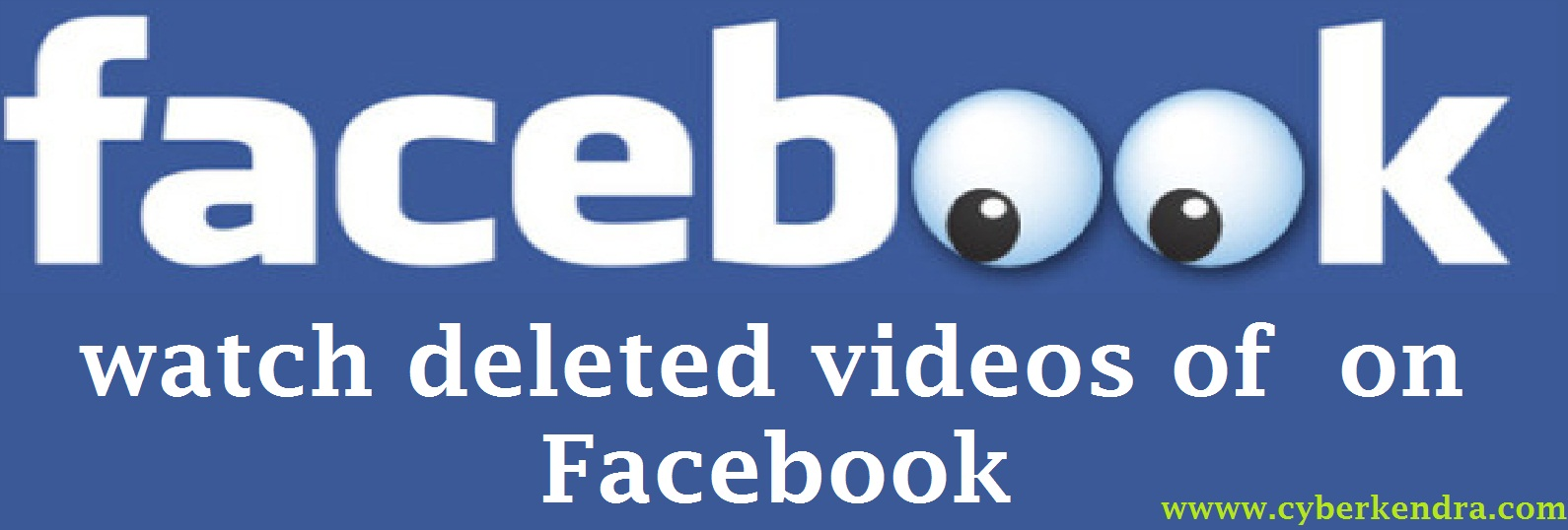 The gallery for --> Deleted Facebook Pictures