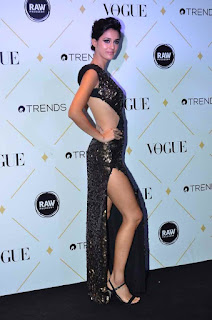 Disha Patani in a beautiful Leg Split Gown at VOGUE Beauty Awards 2017