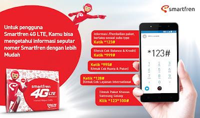 Cara Cek Sisa Kuota Internet Smartfren GSM 4G Terbaru 2018