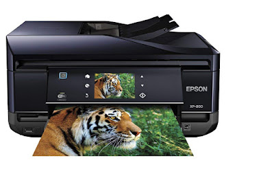 Superior photograph lineament as well as sudden text alongside  Epson Expression Premium XP-800 Driver Downlaods