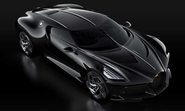 Cristiano Ronaldo Bugatti La Voiture Noire