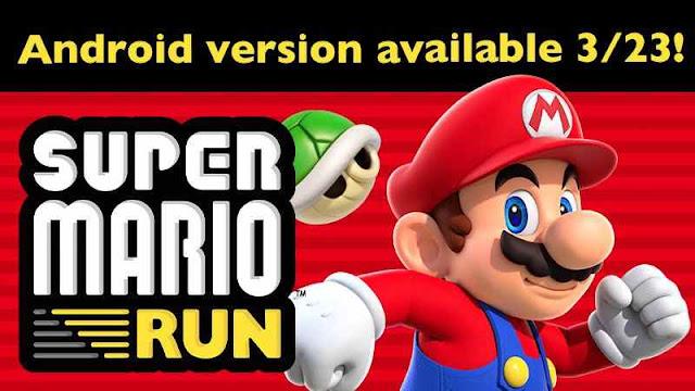 23 Maret, Game Super Mario Run Untuk Android Siap Rilis