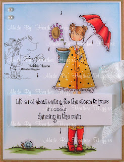 Heather's Hobbie Haven - Lolly & Her Brolly Card Kit
