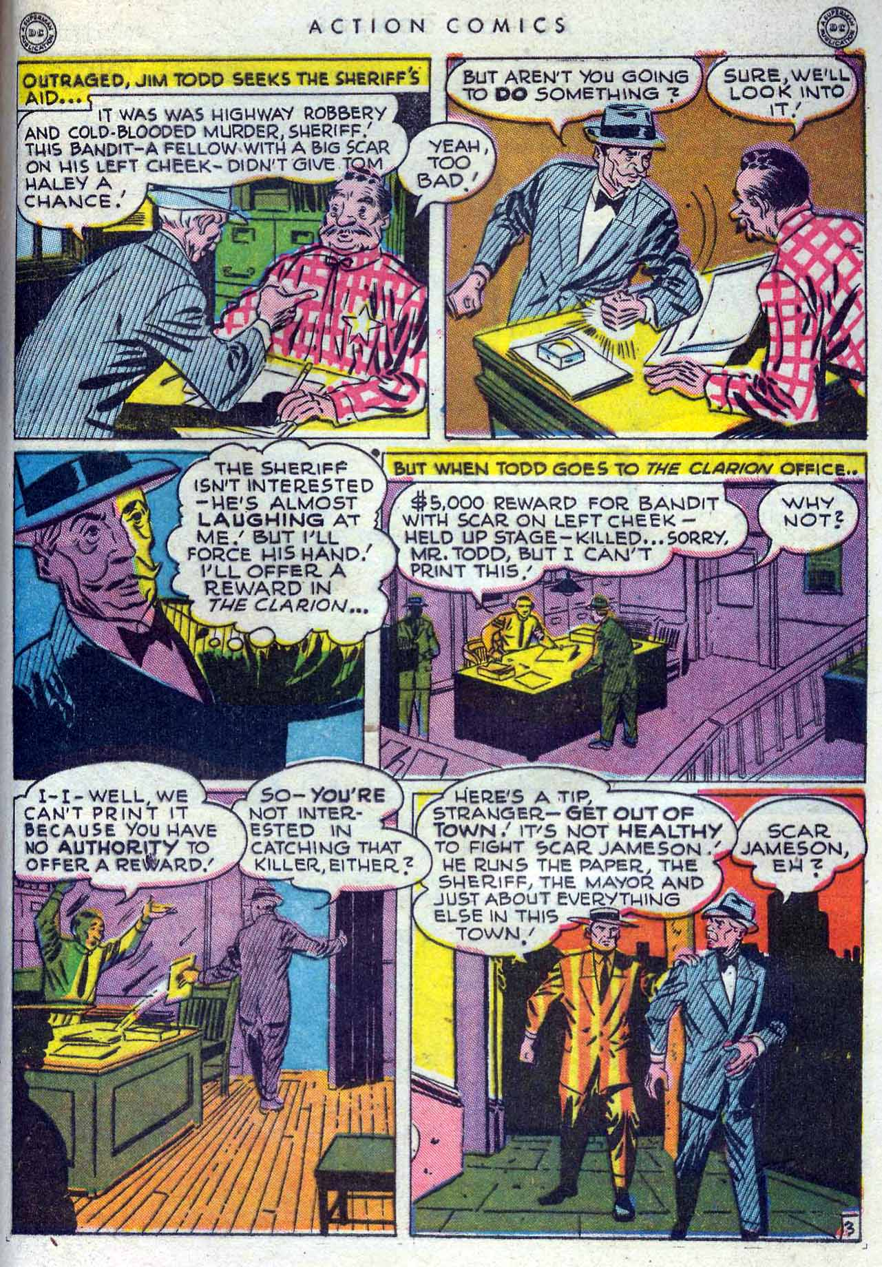Read online Action Comics (1938) comic -  Issue #105 - 43