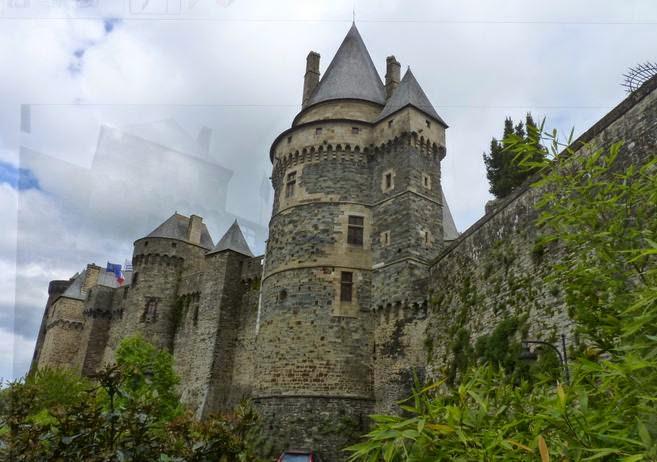 Castillo de Vitré.