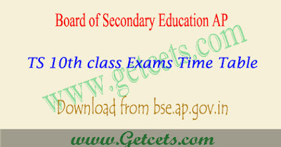 AP SSC time table 2020, bseap 10th class exam dates ( 2021 )