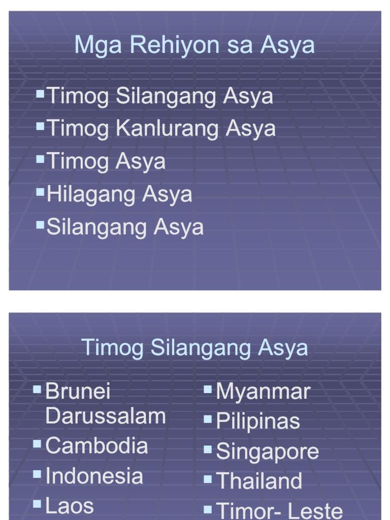 Kultura ng timog asya ::