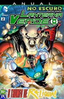 Os Novos 52! Lanterna Verde - Anual #2