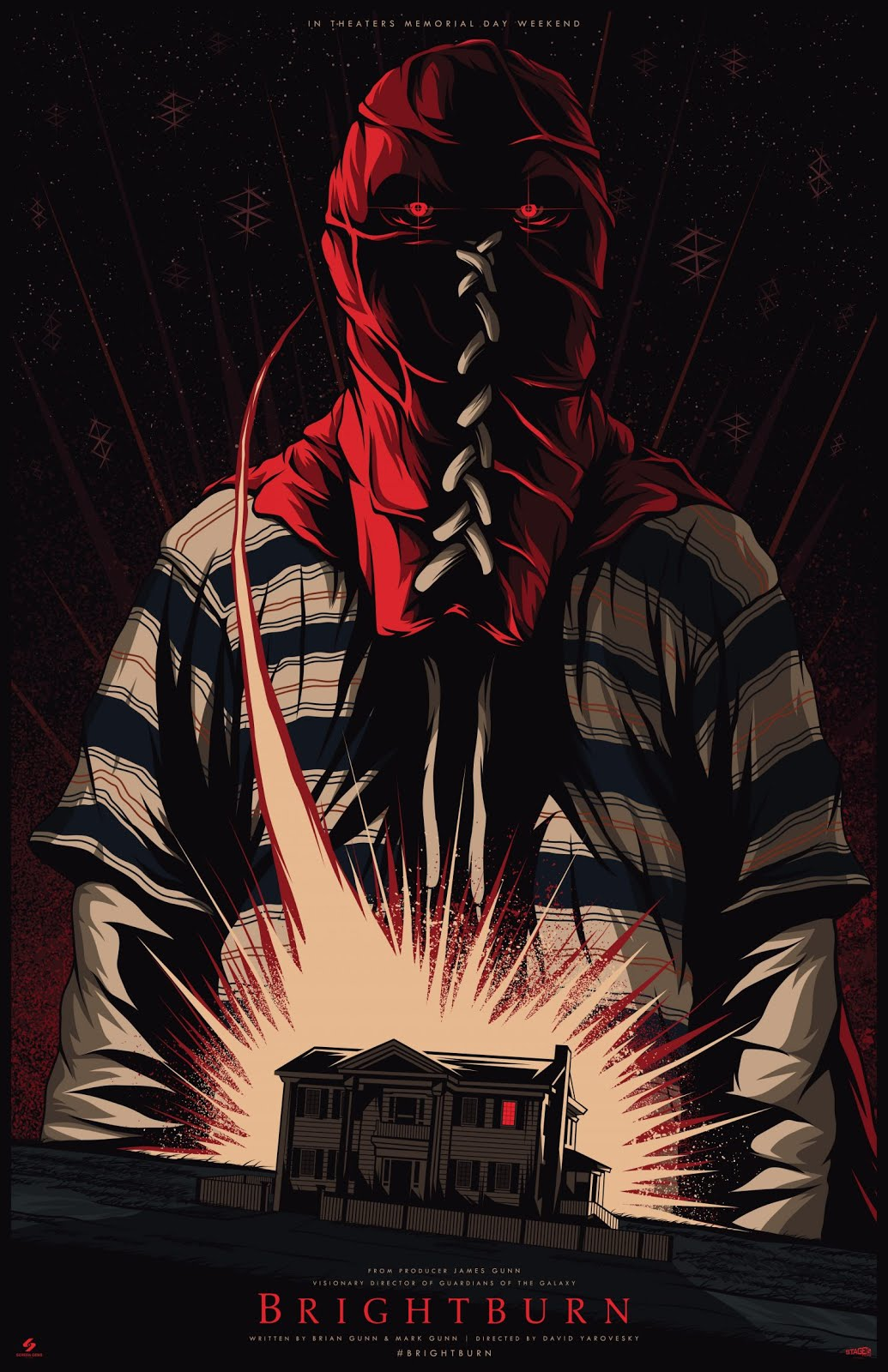 Brightburn (2019) English 720p HDCAM-Rip x264 850MB Free Download