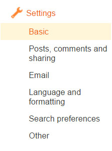 Basic-Blogger-settings