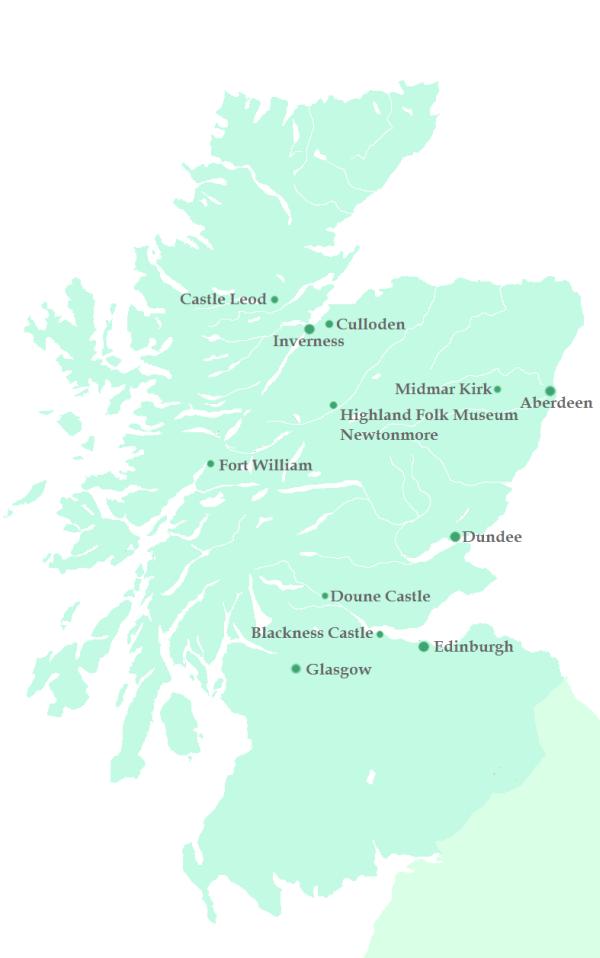 Auf den Spuren von Outlander