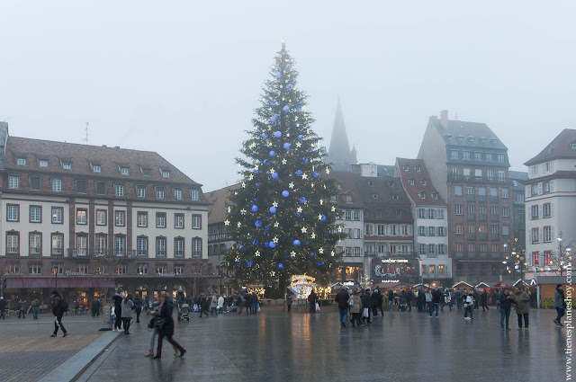 Plaza Kléber Arbol de Navidad Estrasburgo
