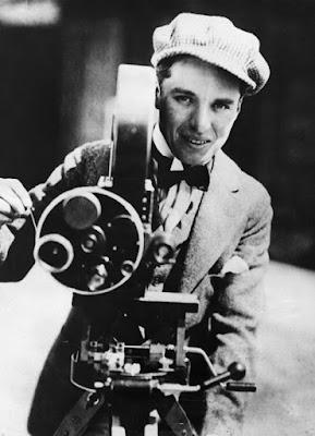Чарли Чаплин за камерой, ~1916 г.