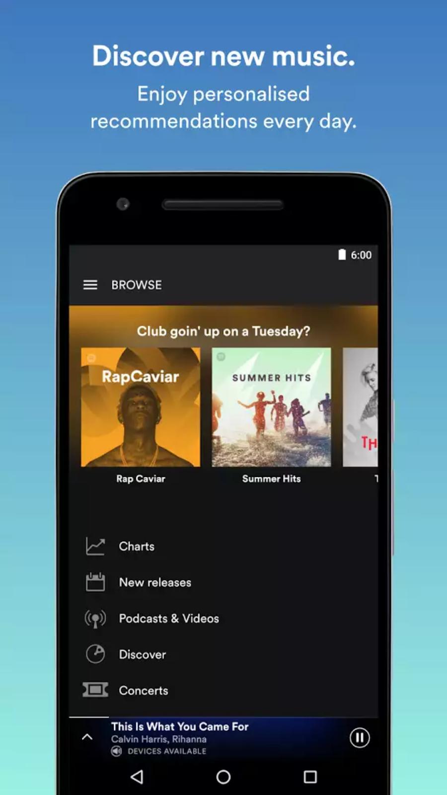 mod spotify premium 2018