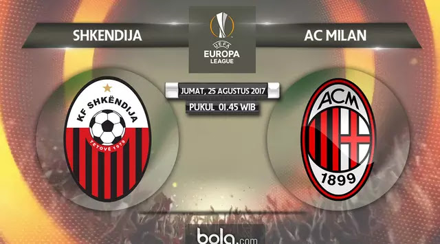 Shkendija vs AC Milan Full Match & Highlights 24 August 2017