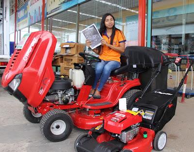 Buriram Troy Bilt Electric Start Lawn Mower