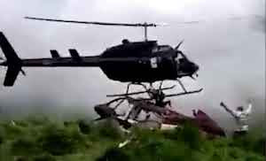 Man Sliced To Death By Helicopter That Came To Rescue Him