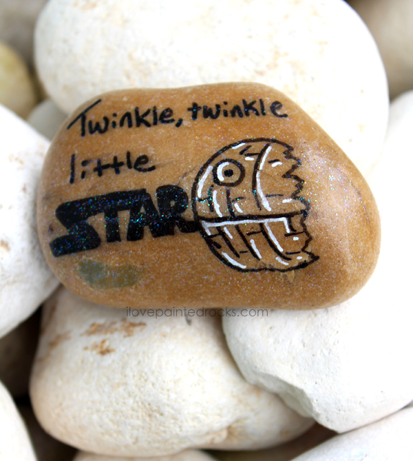 20 Star Wars Inspired Rock Painting Ideas I Love Painted Rocks
