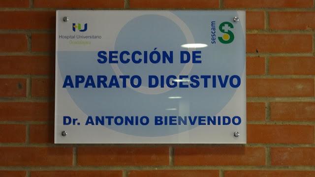 Sección de aparato digestivo en Guadalajara