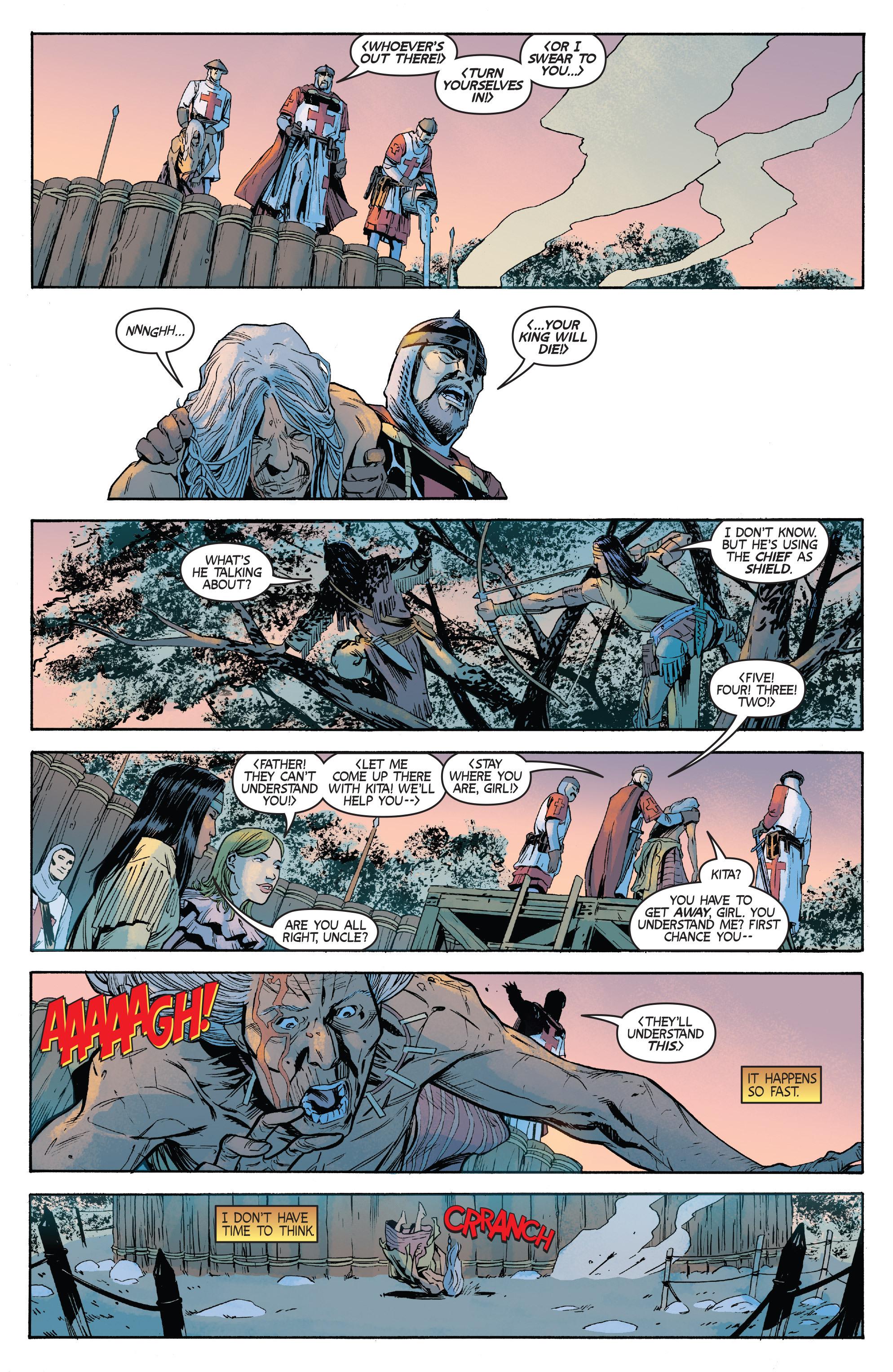 Read online Turok: Dinosaur Hunter (2014) comic -  Issue # _TPB 1 - 41