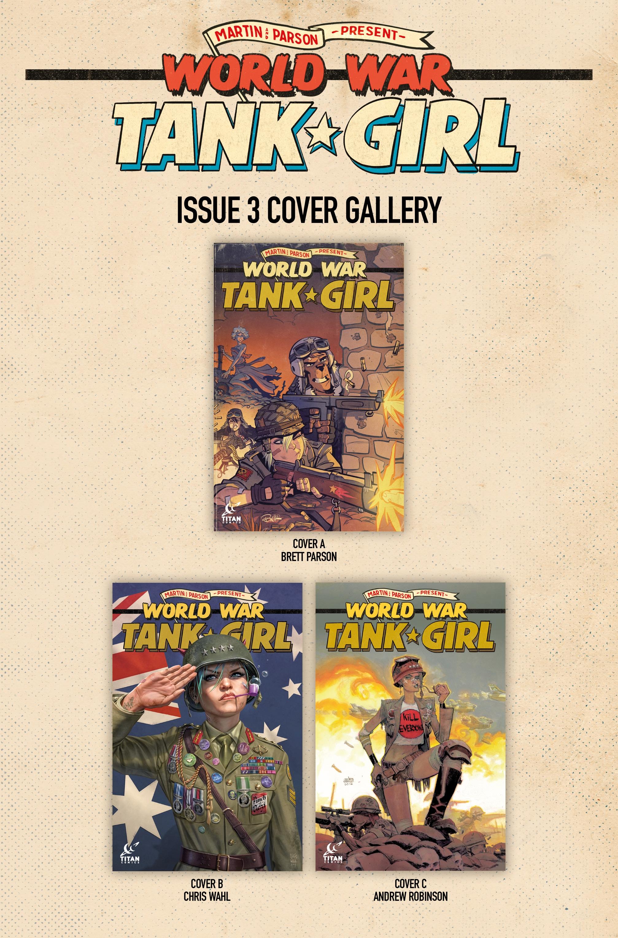 Read online Tank Girl: World War Tank Girl comic -  Issue #3 - 22