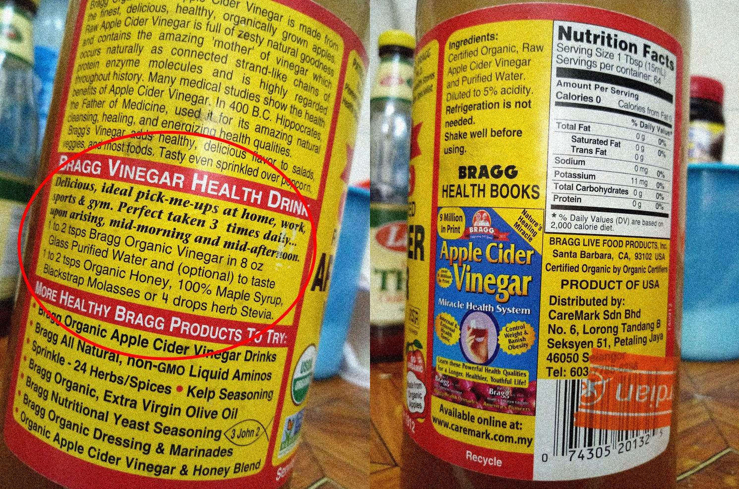 Sejuta Manfaat di Balik Apple Cider Vinegar