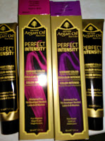 perfect intensity argan oil hair dye sally beauty purple magenta pink