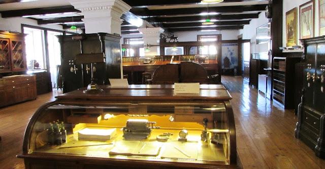 interior do museu da casa Ramos Pinto