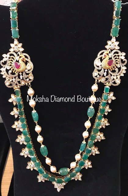 Emerald Haram by Moksha Diamonds