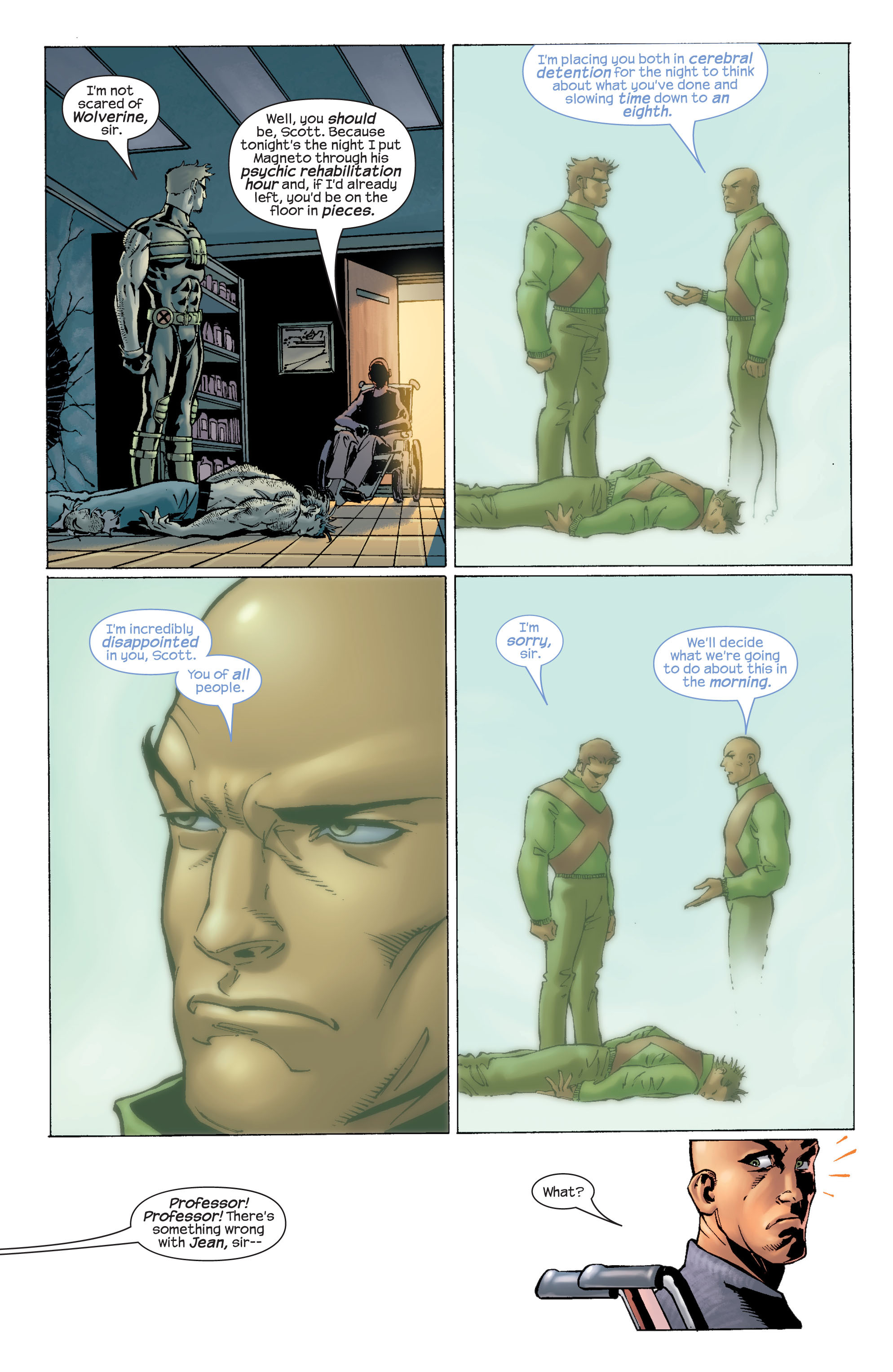 Read online Ultimate X-Men comic -  Issue #22 - 21