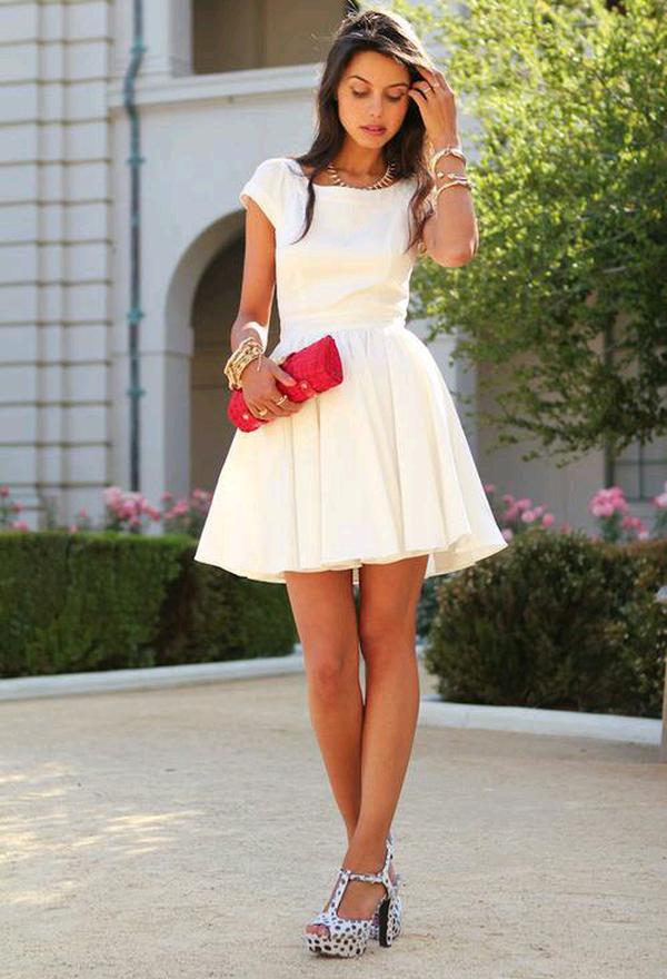 Modelos de vestidos casuales para mujeres