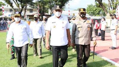 Gubernur Olly Irup Operasi Ketupat Samrat 2021